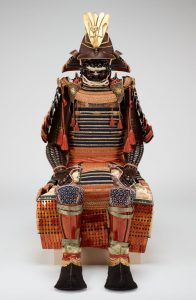 Japanese suit of armor.