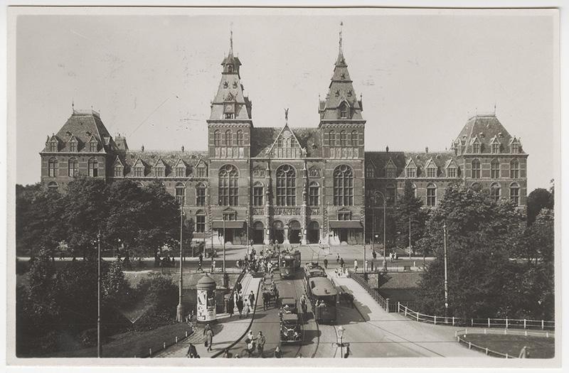 Facade of the Rijksmuseum, Amsterdam