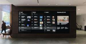MoMA Program Wall
