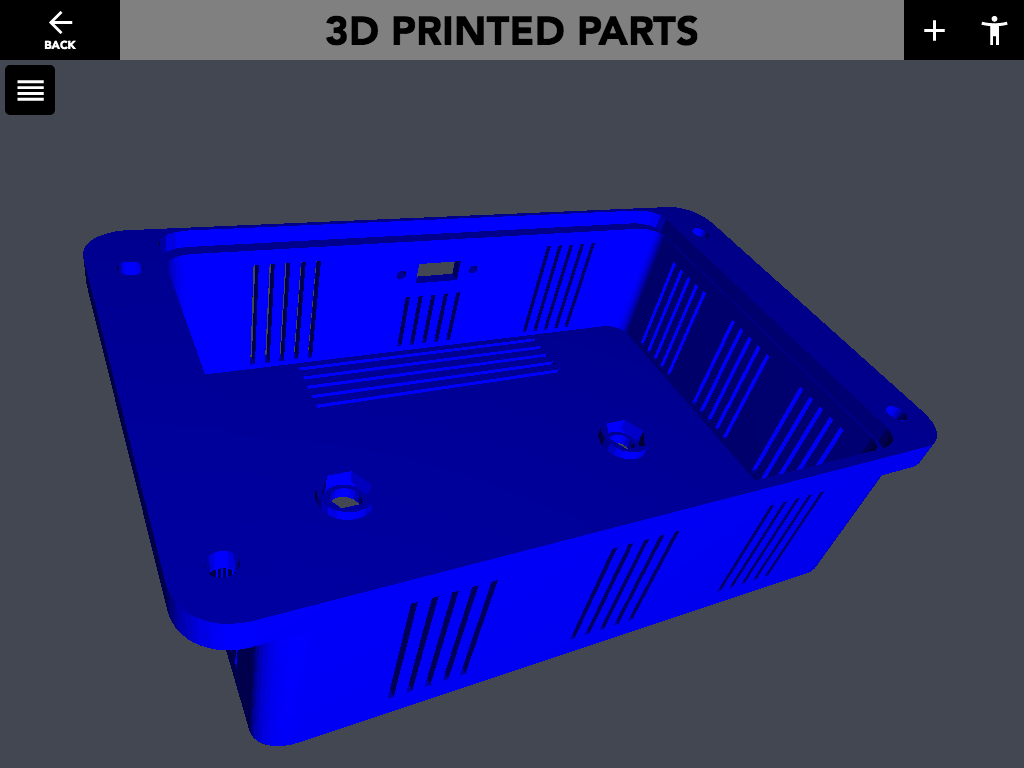 "Figure 21a: 3D Printed Parts ""3D Render"" activity."